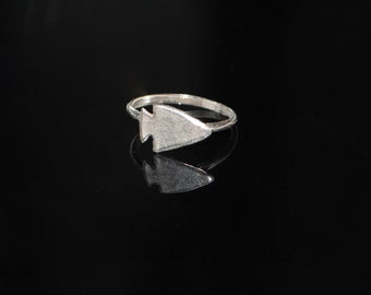 The Sterling Arrowhead Ring