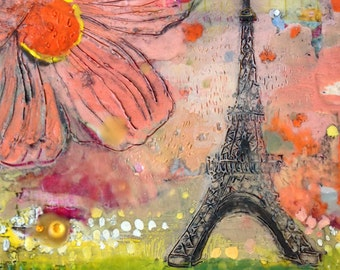 Springtime in Paris (Archival Print)