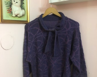 Sparkly Vintage 80's sweater size S-M