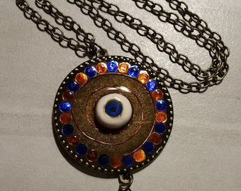 Orgone Team-Inspired, Evil Eye Energy Pendant
