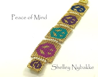 Peace of Mind - 24k Gold  Multi-colored