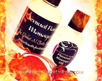 Cinnamon Flavored Massage Oil