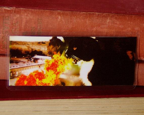 Dragon Cat Bookmark