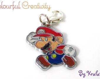 Stitch marker enamel Super Mario