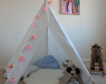 Kids Teepee Play Tent Wigwam Tipi Children