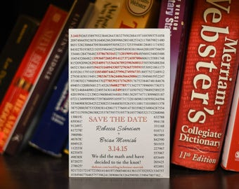Pi Day Save the Date