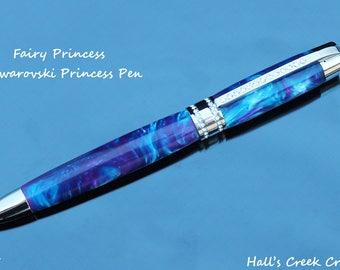 Fairy Princess Swarovski Pen