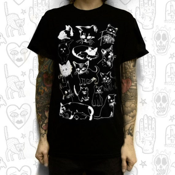 CAT T-SHIRT - small