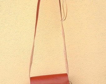 Leather bag, shoulder bag, summer bag