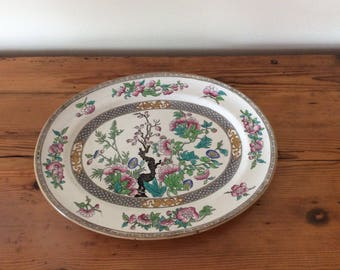 Large flat MINTON 19th