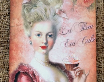 Marie Antoinette Let Them Eat Cake Gift or Scrapbook Tags or Magnet #198