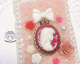 CLEARANCE SALE iPhone 6S Plus/6 Plus - Ready to Ship - Sailor Moon Vintage Sailor Mars Cameo Deocoden iPhone Case