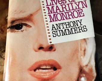 """ON SALE - Vintage Book """"Goddess The Secret Lives of Marilyn Monroe"""" by Anthony Summers 1985"""