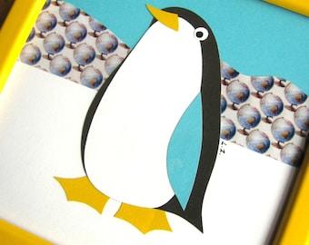 Little Penguin Papercut Picture