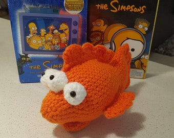 Simpsons Blinky Crochet Fish - Plush toy - The Simpsons