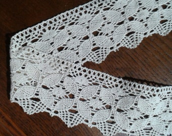 handmade bobbin lace vintage lace 3