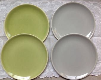Set of 4 Universal Ballerina Pastel Plates