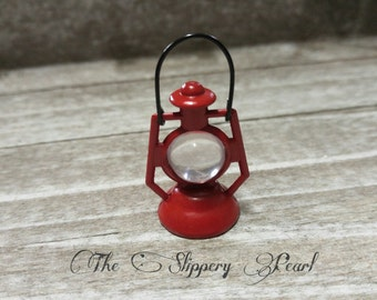 Miniature Lantern Mini Lantern Dollhouse Lantern Fairy Garden Lantern Red Lantern Lantern Charms
