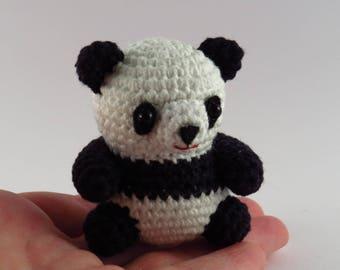 Cute amigurumi Panda. Small Giant panda.