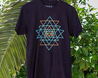 Sri Yantra Geometric Art Sacred Geometry Shirt