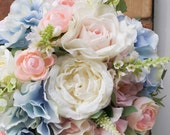 Pastel wedding bouquet in...