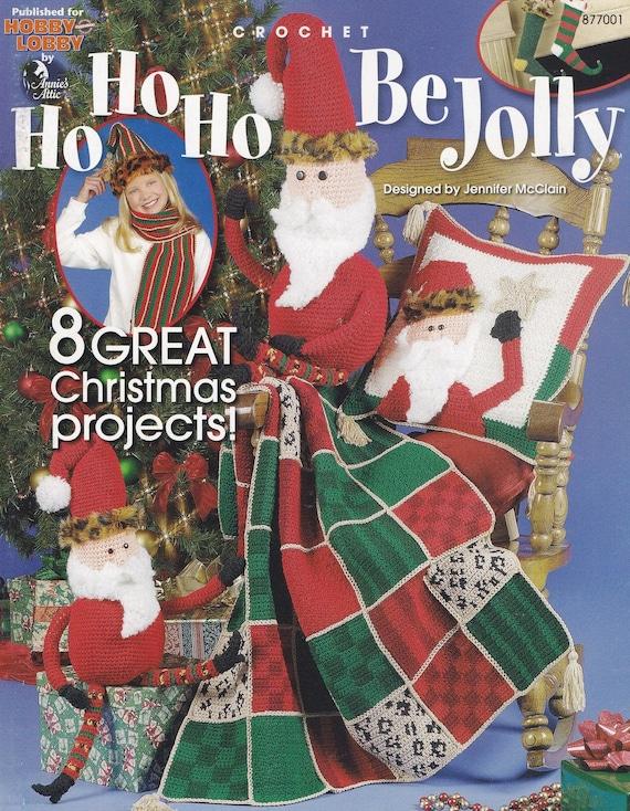 Ho Ho Ho ser alegre, Attic Navidad vacaciones decoración de Annie ...