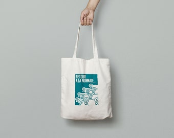 Tote Bag May 1968 back to normal - limited edition - poster poster may 68