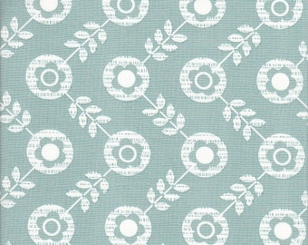Free Spirit Fabrics Erin McMorris La Dee Da Floradots in Grey - Half Yard