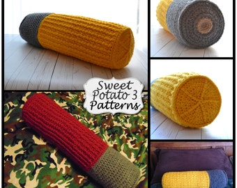 PATTERN Shotgun Shell Pillow Cover - Crochet