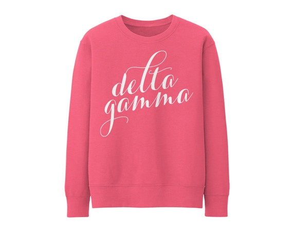 KD Kappa Delta Script Choose Your Colors Sorority Sweatshirt 5E6P1RC