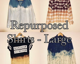 Repurposed Button Ups (Large)