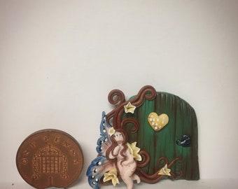 Ooak handmade miniature fairy door