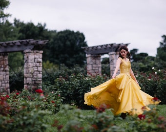 Belle Disney Dress - Beauty and the Beast - 2017 Live Action Movie - Women's Costume