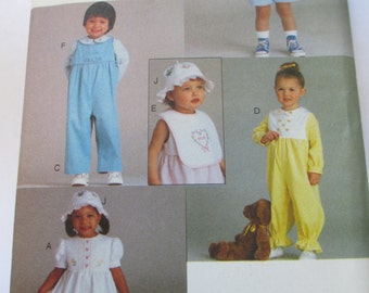Vogue  Sewing paper pattern baby  toddlers clothes  pattern all sizes 1-6 uncut 9297