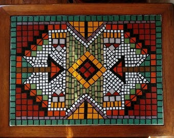 Mosaic Table | Etsy