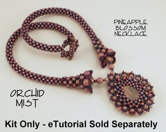 KIT ONLY for Pineapple Blossom Necklace in Orchid MIST Colorway