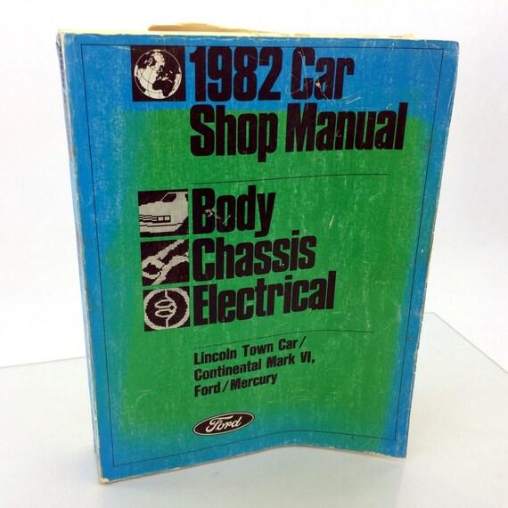 manual lincoln continental 96