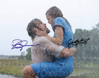 The Notebook Ryan Gosling Rachel McAdams signed 8X10 photo picture poster autograph RP