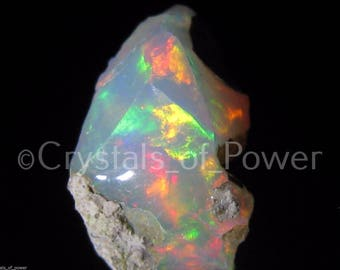 ONE Fire Opal! Welo Crystal! Vivid FIre! Extremely Rare! Very Limited Quantity! Ethiopia! Highest Quality! Mine is Dry! Last in the World!
