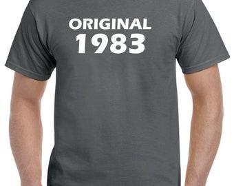 35th Birthday Shirt Gift-Original 1983