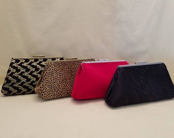 Snap Clutch Bag