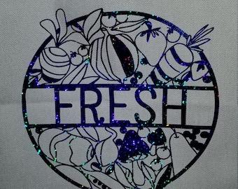 Farmers market tote. Fresh.