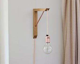 Pendant Light Kit - Lighting Fixture - Lighting Bracket - Pendant - Wall Mounted Lighting - Wall Lighting - Edison Bulb - Wall Lamp - Sconce