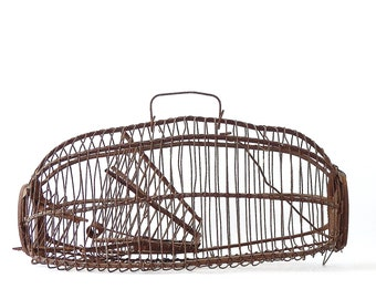 Antique Mouse Trap Wire Live Catch Rat Traps Primitive Decor Hold-em Live Catch Mouse Traps Metal Wire Rustic Industrial Decor FREE SHIPPING