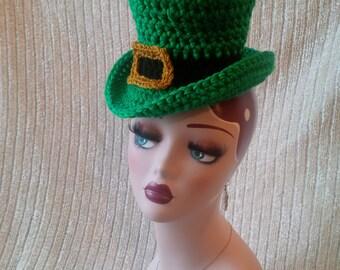 PATTERN ONLY!  Crochet St. Patrick's Day Top Hat