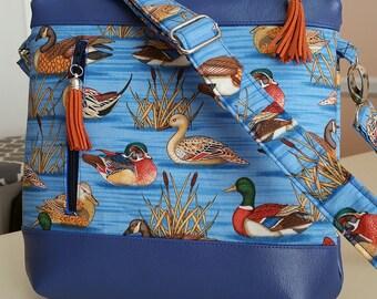 Ducks Handbag (made in USA by the Chesapeake Bay)