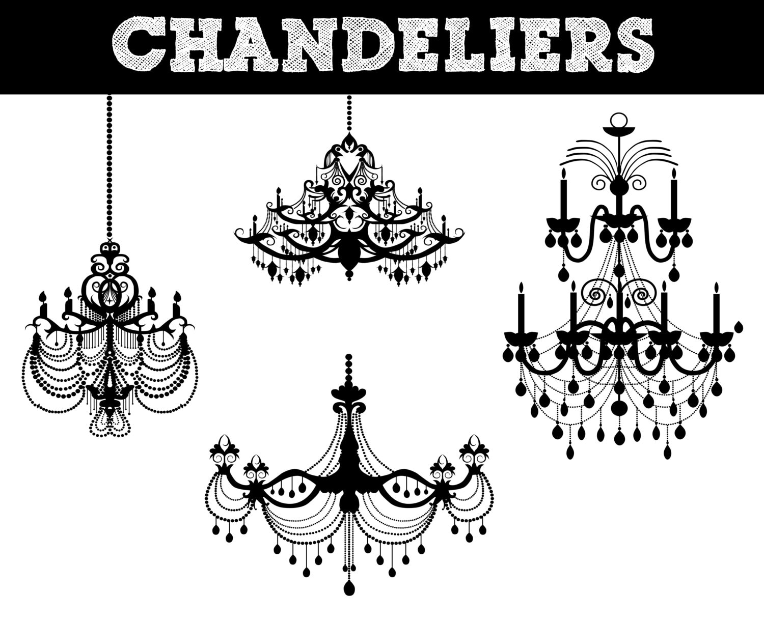 Chandelier silhouettes lighting silhouette commerical zoom aloadofball Gallery