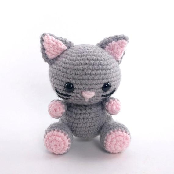 Pattern Kaylie The Kitten Crochet Cat Pattern Amigurumi