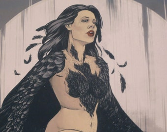 As the Crow Flies - Print
