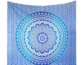 Mandala Tapestries Wall Hanging, Gypsy Wall Tapestry, Dorm Hippie Tapestry, Bohemian Wall Throw